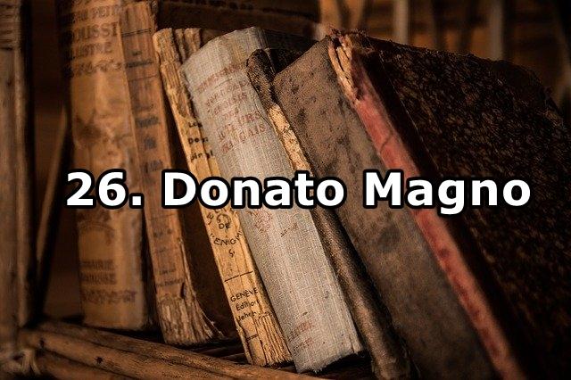 26. Donato Magno