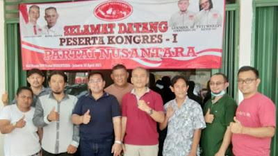 Usai Kongres I Ketum Partai Nusantara Ucapkan Terima Kasih Dan Permohonan Maaf