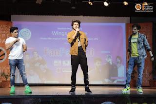 Zayn, Wasim and Nazim performing at LPU, Punjab