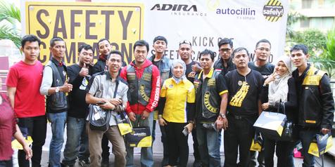 Adira Insurance Gulirkan Safety Campaign Award