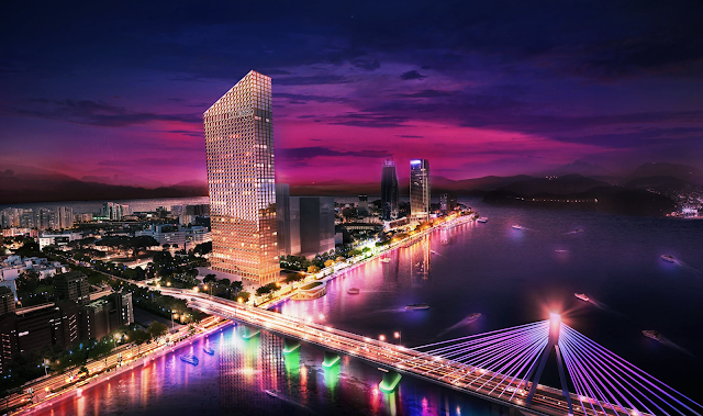 Phối cảnh dự án Marriott Executive Apartments