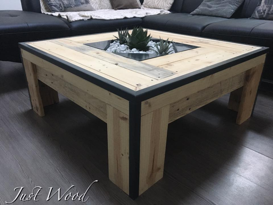 Mesas - Estructuras con palets ...