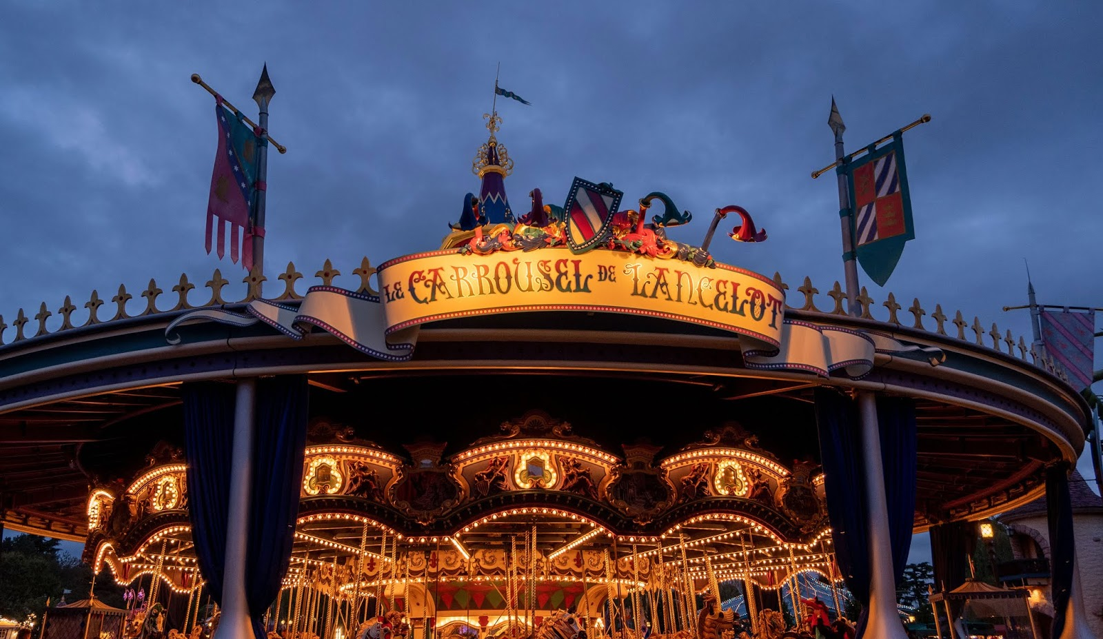The carousel at Disneyland Paris