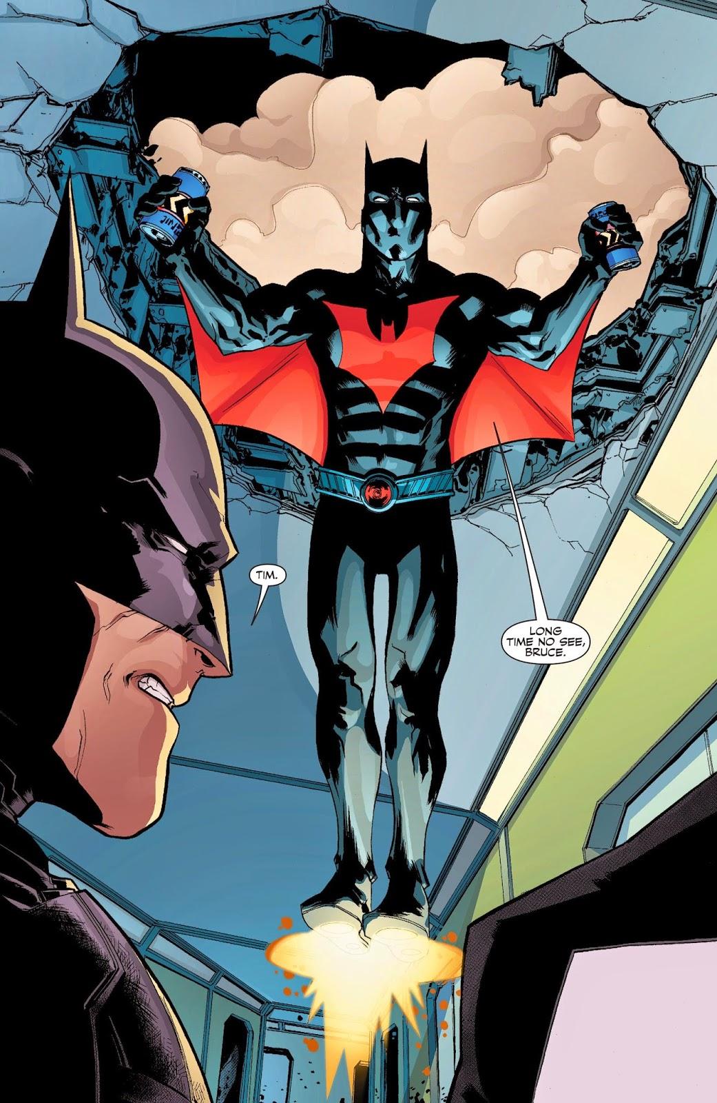 Weird Science DC Comics: The New 52: Futures End #47 ...New 52 Batman Beyond