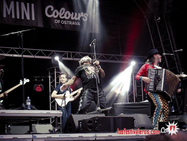 Winston mc Anuff & Fixi / Festival Colours of Ostrava 2019, Dolni Vitkovice, Ostrava, CZ