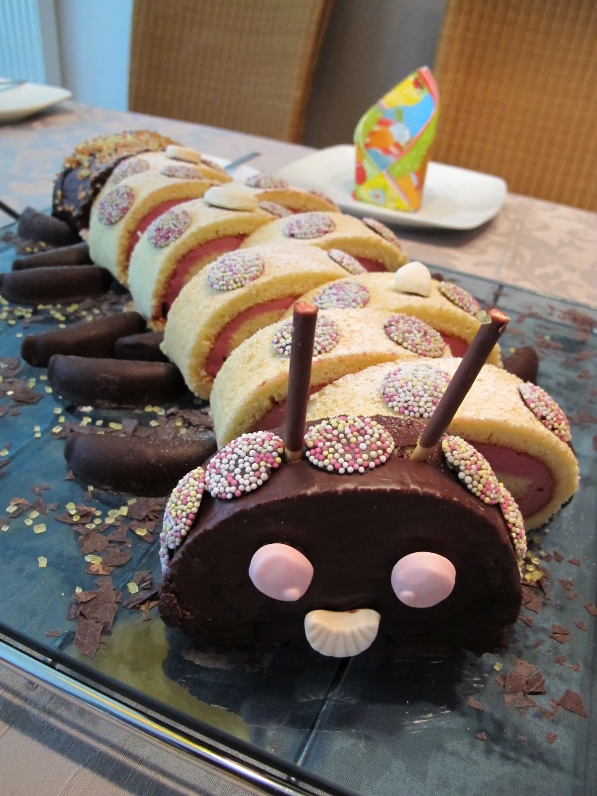 Rezept Torte Raupe Nimmersatt