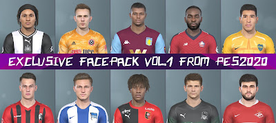 PES 2019 Facepack V1 from PES 2020