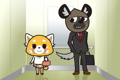 Haida and Retsuko, Aggretsuko