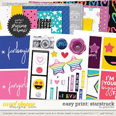Easy Print: Starstruck
