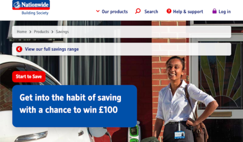 Start to Save – Nationwide