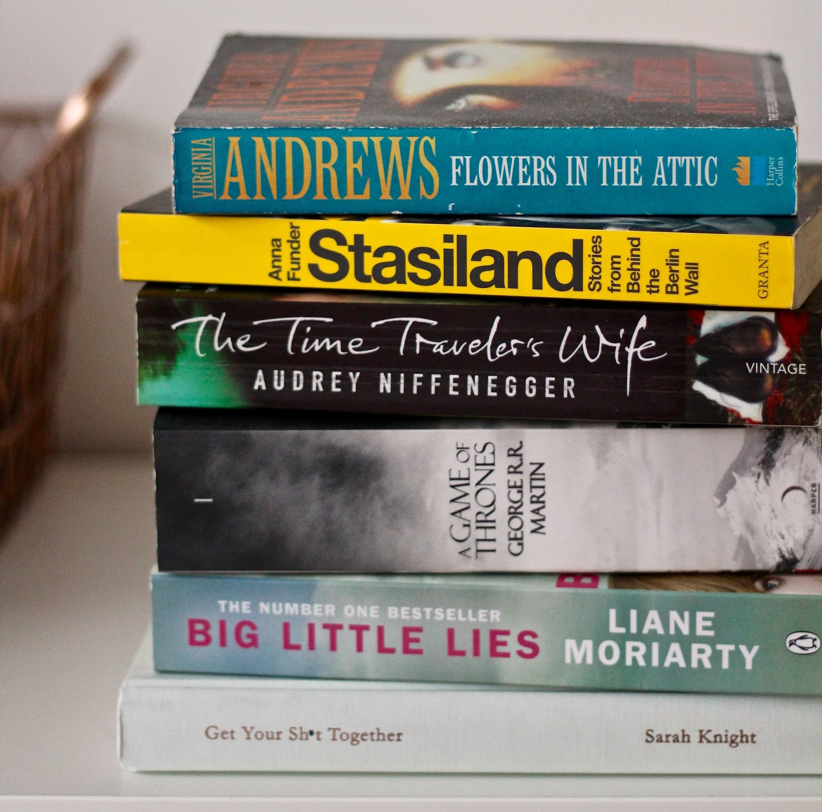 My Current Reading List – Volume 1