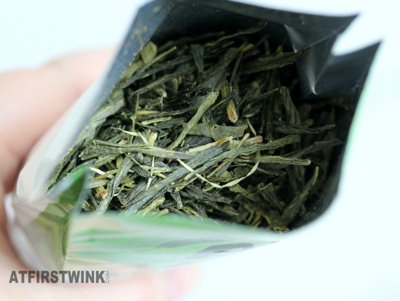 sencha japanese tea leaves
