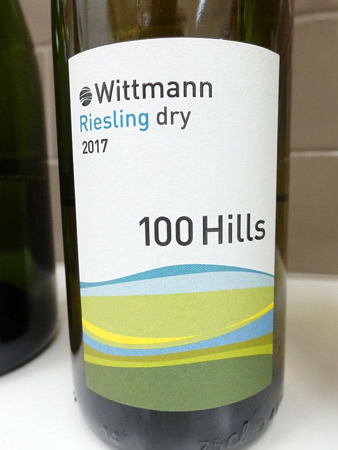 Wittmann 100 Hills Trocken Riesling 2017 (88 pts)