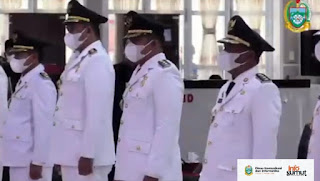 Bobby Nasution - Aulia Rachman Resmi Dilantik Jadi Wali Kota dan Wakil Wali Kota Medan