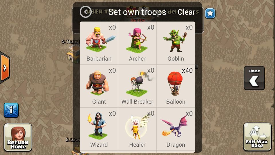 clash of clans xmod