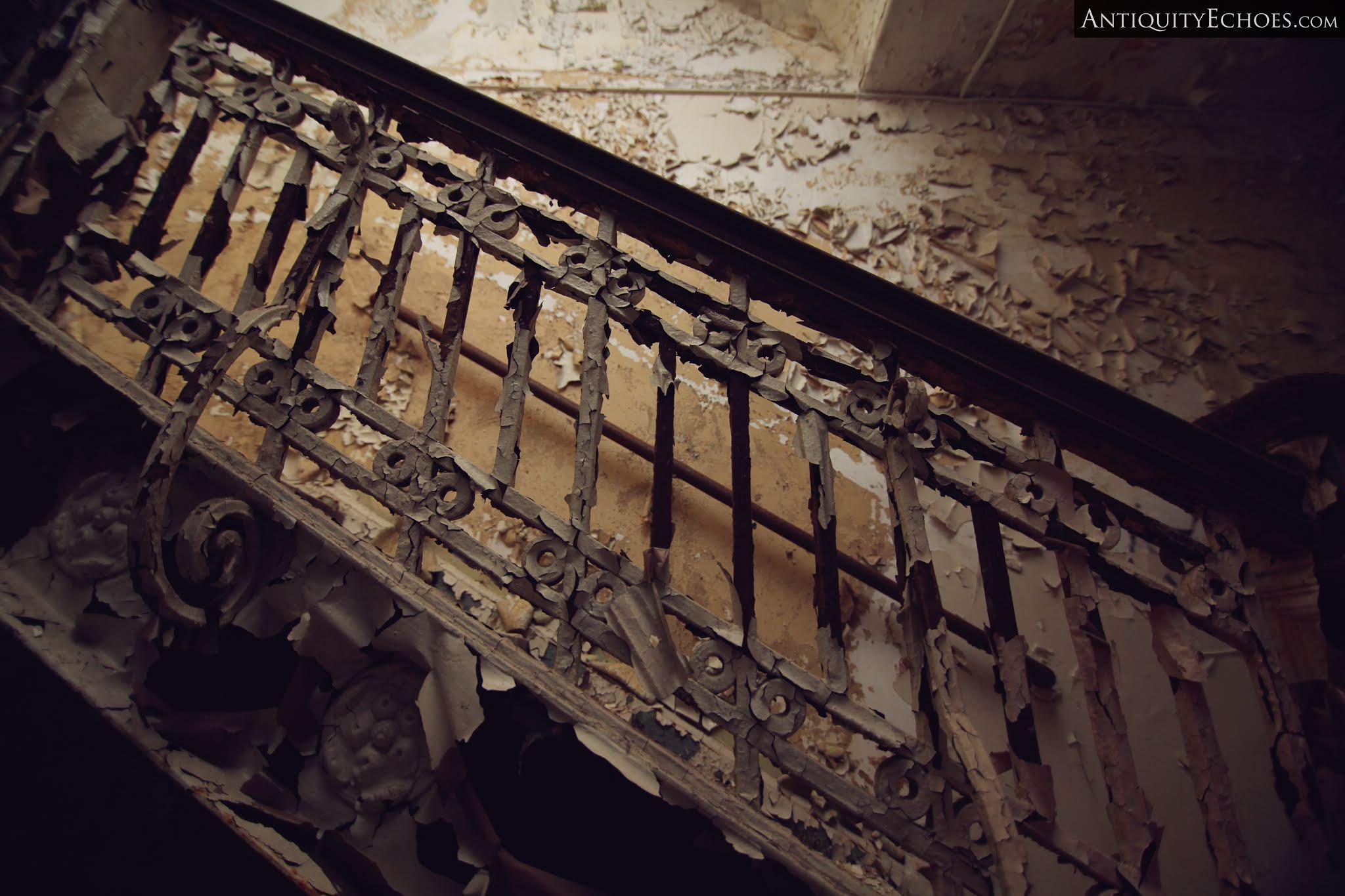 Overbrook Asylum - Master Stair Detail