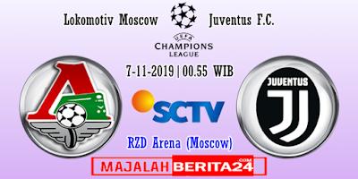 Prediksi Lokomotiv Moscow vs Juventus — 7 November 2019