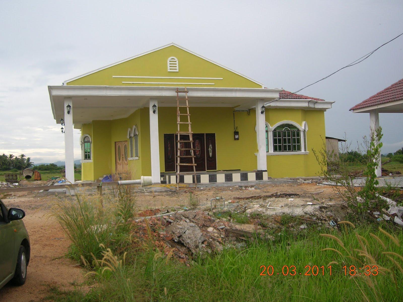 Kombinasi Warna Cat Rumah Hijau Lumut Kumpulan Desain Rumah