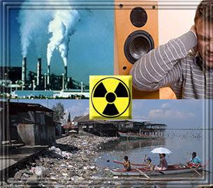 Poluição Biológica, Radioativa, do Solo e do Ar