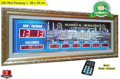 Toko Jam Jadwal Sholat Digital Masjid Di Medan