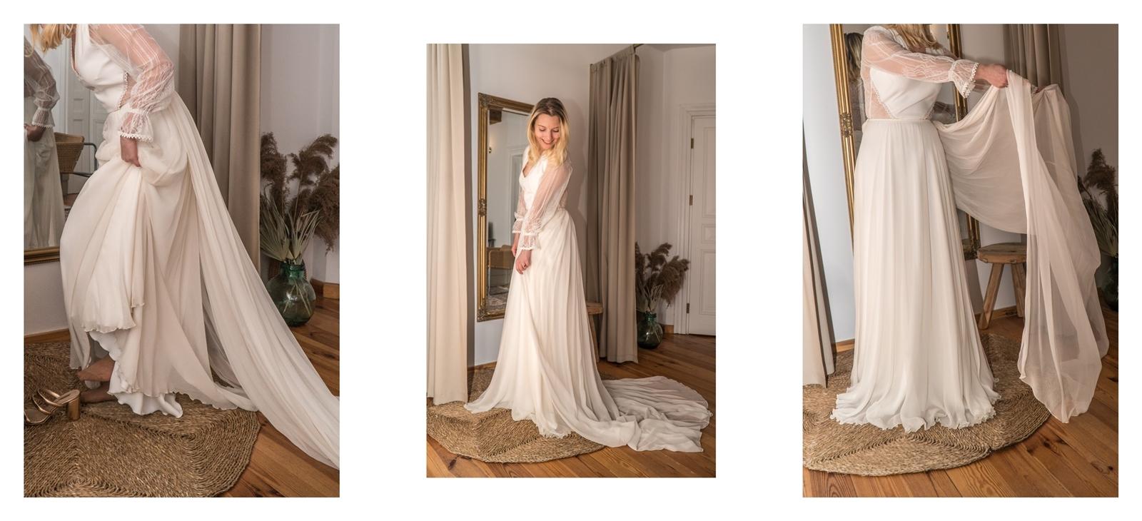 17 suknia ślubna asymetryczna atłasowa bez ramiączek boho koronka suknia ślubna boho bez pleców bez koronki rustykalna beżowa plus size body i spódnica koszula balowa spódnica ślubna