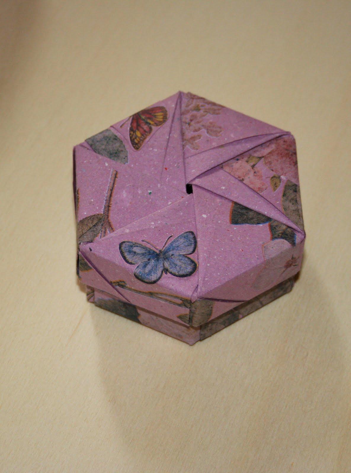 ORIGAMI CONSTRUCTIONS: origami square box + folding ... - photo#45