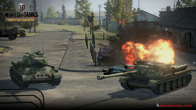 World of Tanks Gameplay Screenshot 2