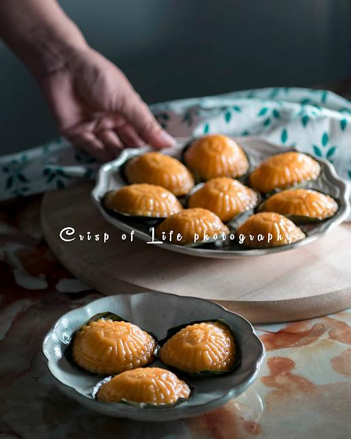 Pandan Nyonya Angku Kuih (Red Tortoise Cake) Recipe