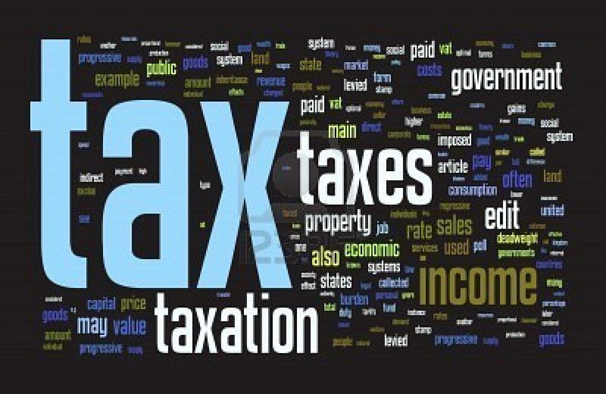 Essay On The Different Canons Of Taxation