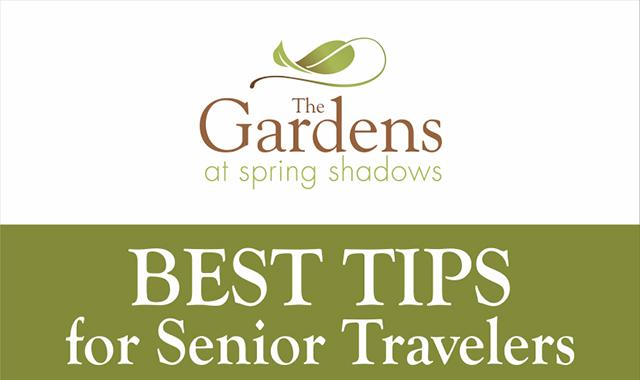 Senior travelers ' best tips #infographic