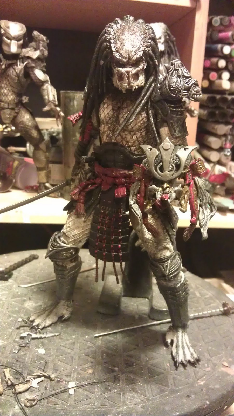 feudal era predator custom wip pcs | Sabretooth's Workshop