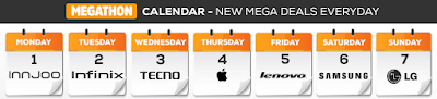 jumia mobile week calendar
