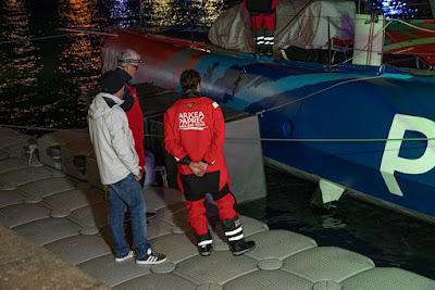 Avarie de foil bâbord pour ARKEA PAPREC