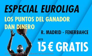 suertia promo euroliga Real Madrid vs Fenerbahce 3-10-2019