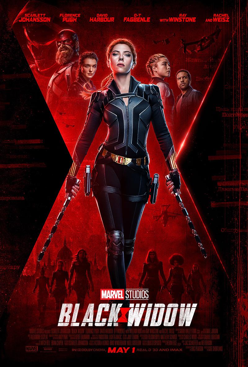 Poster film keren Black Widow