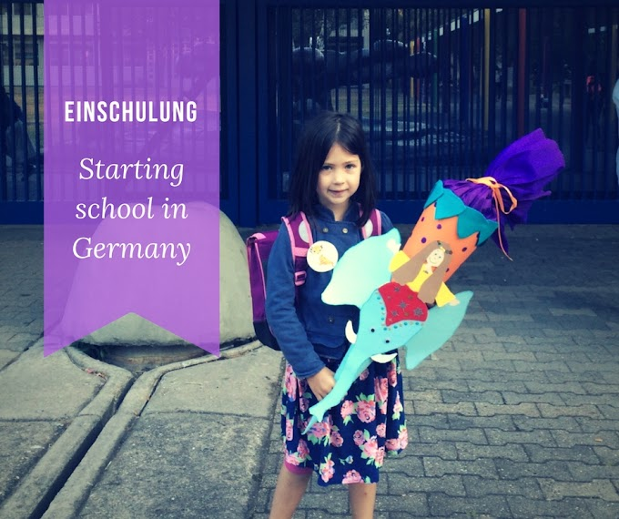 Einschulung: starting school in Germany