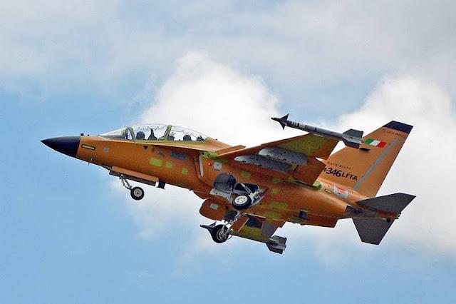 Leonardo M-346FA first flight