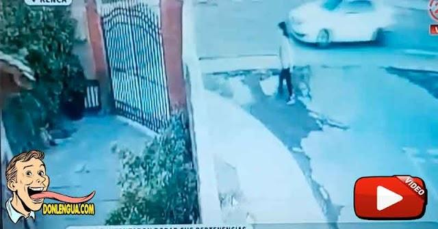 Delincuente venezolano herido