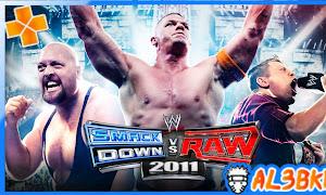 تحميل لعبة WWE SMACKDOWN VS RAW 2011 لمحاكي  ppsspp