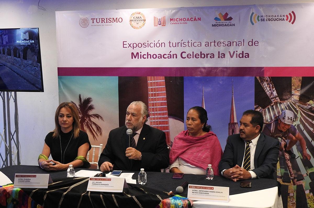 MICHOACÁN PROMOCIÓN TURÍSTICA MERCADOS PUNTO MÉXICO 3