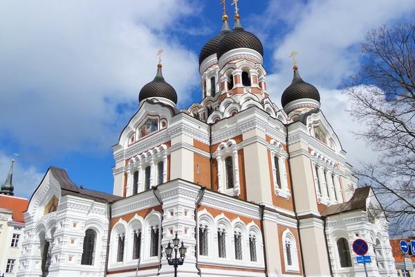 estonie tallinn vieille ville toompea cathédrale alexandre nevsky