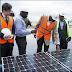 PHOTOS: Fashola Commission Japanese 1.2MW Solar Power Plant Donated To Nigeria