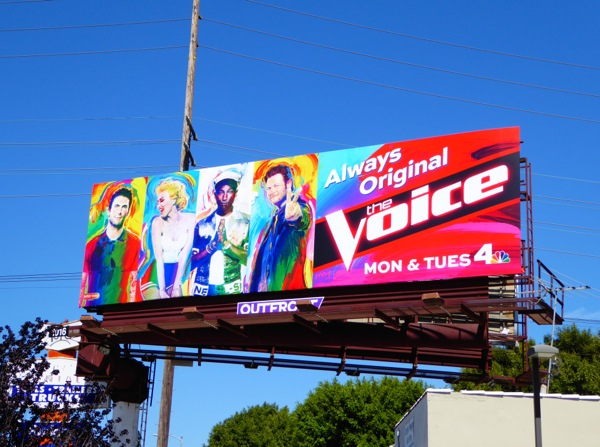 The Voice season 9 billboard