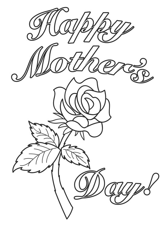 Free Coloring Pages: Free Mother's Day Coloring Pages ...