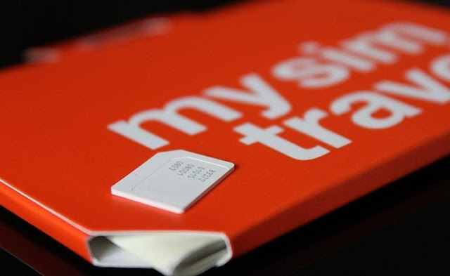 Como usar o celular a vontade Amsterdã Holanda: Chip mysimtravel
