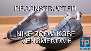 The guys over at Fast Pass wasted no time and put the Nike Zoom Kobe  Venomenon 6 under the knife. We now have a deconstructed look at the shoe,  ...
