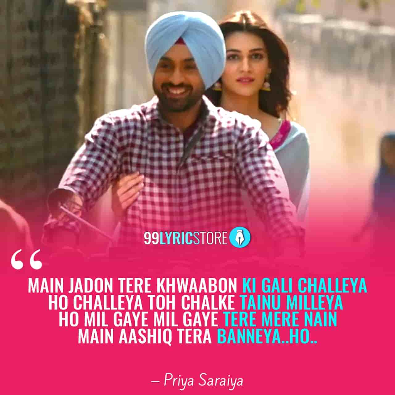 Sachiya Mohabbatan Lyrics Sung by Sachet Tondon