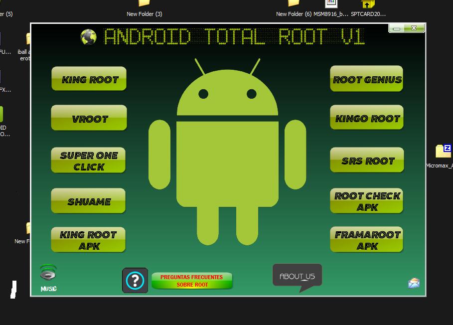 إهداء ANDROID TOTAL ROOT V1 الأداة الشاملة لجميع برامج