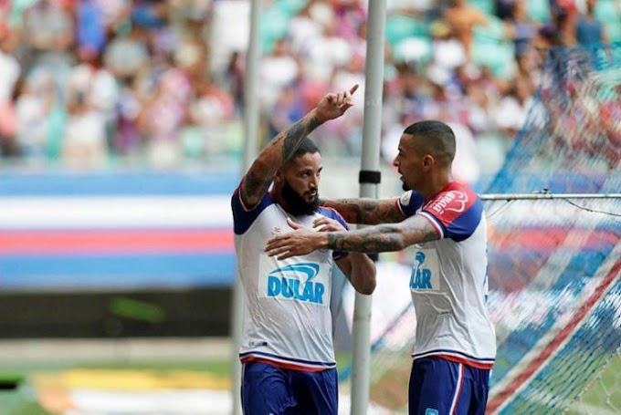 Bahia vence o Corinthians de virada e larga bem no Brasileirão