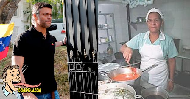 SEBIN detiene a la Cocinera de Leopoldo López